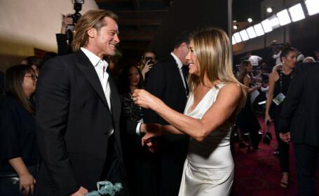 Brad Pitt și Jennifer Aniston