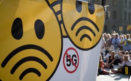 """Proteste în Capitală împotriva tehnologiei 5G. Cum ne poate afecta """"pericolul iminent"""""""