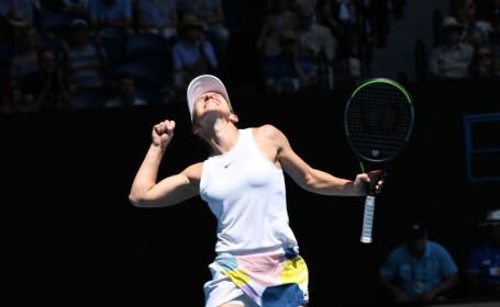 Simona Halep este în semifinale la Australian Open, după o victorie în 53 de minute