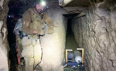 Cel mai lung tunel folosit pentru traficul de droguri între Mexic și SUA. Ce se află în interior