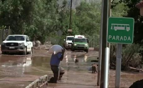 Inundații de amploare în deșertul Atacama, locul unde ploaia este o adevărată minune