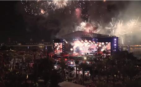 Concert Kiss în Dubai de Revelion, cu versuri cenzurate și fără sânge pe scenă. Ce recorduri au doborât