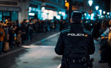 Un român din Spania şi-a înjunghiat soţia în noaptea de Revelion în faţa copiilor, apoi s-a sinucis