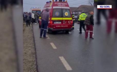 Accident cu cinci victime în Gorj. Cine este vinovat