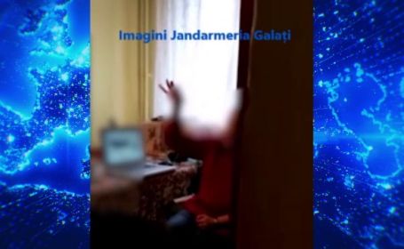 O femeie din Galați a fost evacuată cu forța de jandarmii pe care tot ea i-a chemat. Ce s-a întâmplat