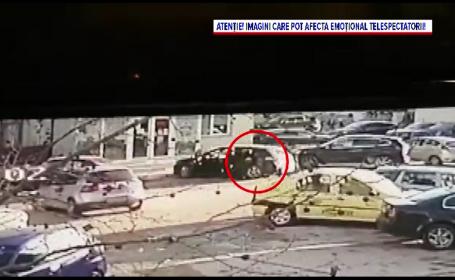 VIDEO. Un bărbat din Slobozia a răpit de pe stradă o tânără cu care se certase