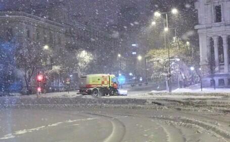 Furtuna de zăpadă Filomena face ravagii în Spania. Aeroportul din Madrid este închis