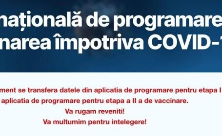 De ce nu funcţionează aplicaţia de programare la vaccinare. Explicaţiile STS