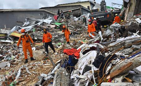 Bilanţul seismului de vineri din Indonezia a crescut la 56 de victime