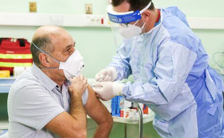 """Virgil Musta n-a avut reacții adverse la vaccin, deși este alergic: """"Reduce la zero riscul de boală severă și de mortalitate"""""""