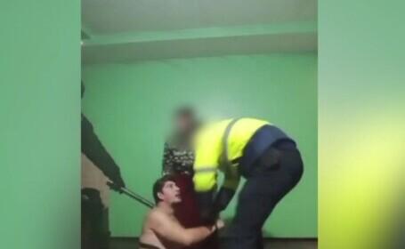 Individ condamnat la închisoare, săltat de polițiști în timpul unei petreceri live pe Facebook