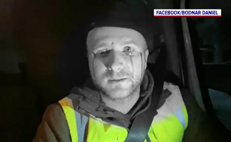 Activistul de mediu Daniel Bodnar, grav rănit într-un accident. Bărbatul are fractură de coloană