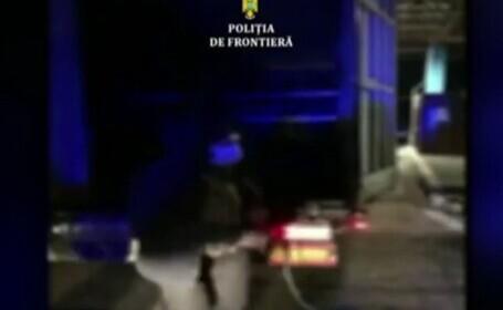 Migranții, prinși cu zecile la frontierele românești. Au devastat o casă din Timișoara