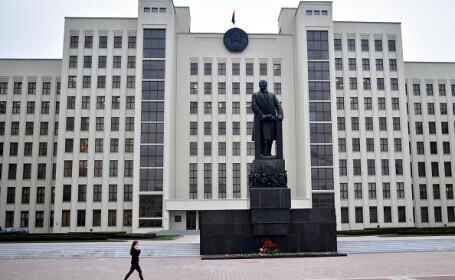 Un bărbat şi-a dat foc în faţa sediului guvernului din Belarus