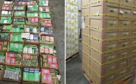 Droguri în cutii de banane