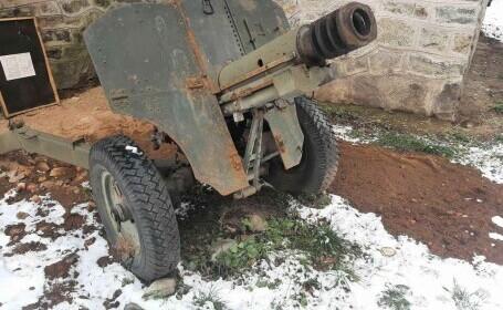 Un craiovean a vândut pe Facebook un tun din Al Doilea Război Mondial. Cât a cerut pe el GALERIE FOTO