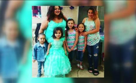 Mama cu cinci fiice