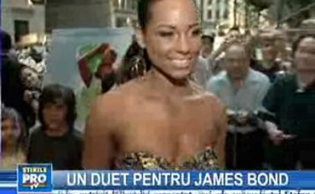 Alicia Keys şi Jack White interpretează muzica din James Bond