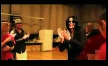 Michael Jackson la repetitii