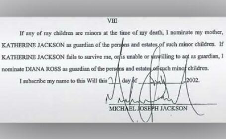 Testamentul lui Michael