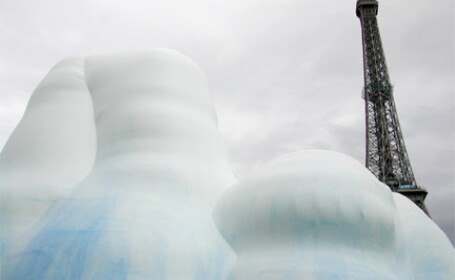 Aisberg pe Sena