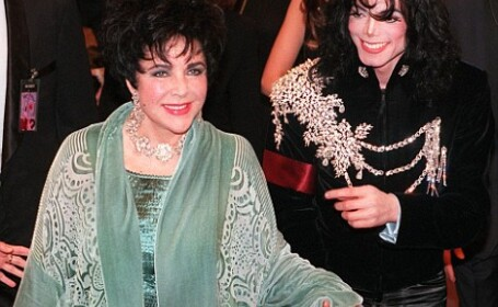 Elizabeth Taylor si Michael Jackson