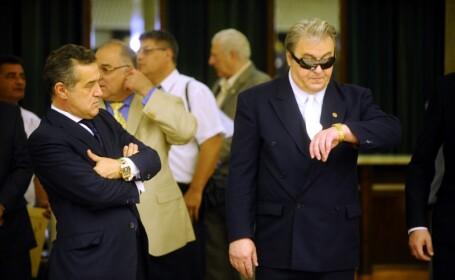 Corneliu Vadim Tudor si Gigi Becali