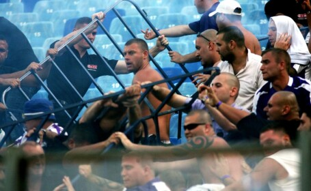 Retur cu scandal! Fanii Stelei pleaca spre Ujpest!