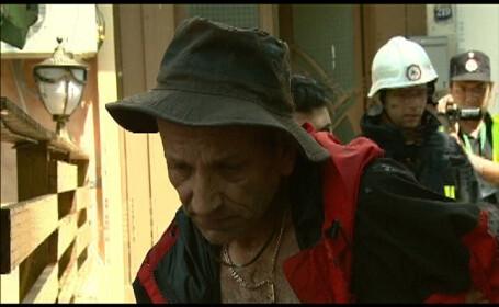 Alarma de grad zero in Bucuresti. A amenintat ca da foc unui bloc intreg!