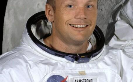 Neil Armstrong, primul om care a calcat pe Luna, a murit la varsta de 82 de ani
