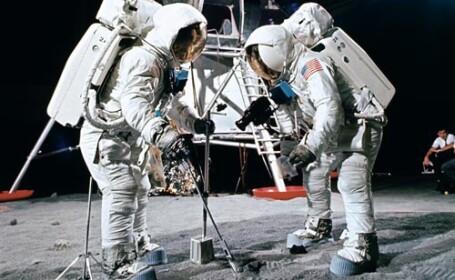 Imagini inedite ale NASA cu echipajul Apollo 11!