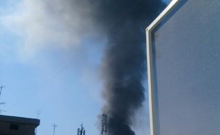 Incendiu de proportii la un restaurant din Piata Gorjului din Capitala!