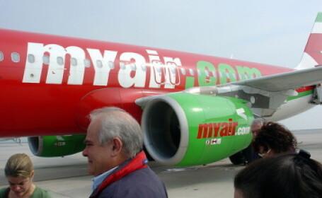 Autoritatea Aviatiei Civile din Italia a suspendat licenta MyAir