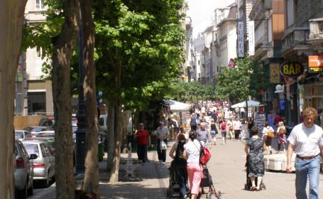 Cartier evacuat la Budapesta, dupa descoperirea unei bombe din al Doilea Razboi Mondial