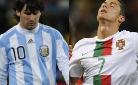 Messi si Ronaldo