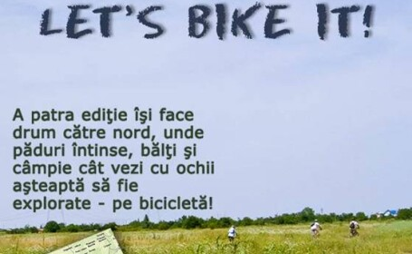"""Let's Bike It"" carteaza pe doua roti pentru o tara mai curata!"