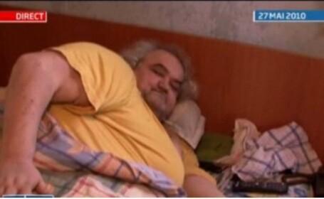 Cel mai gras barbat din Romania s-a stins din viata