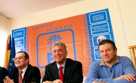 Emil Boc, Adriean Videanu si Radu Berceanu