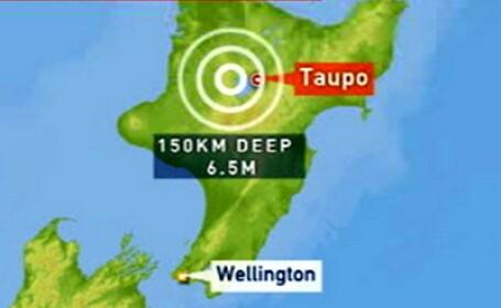 Cutremur de magnitudine 6,5 in Noua Zeelanda