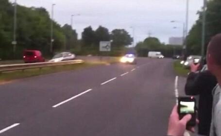 VIDEO. Fuga nebuna de politie. Un tanar la volan foloseste toate mijloacele sa nu fie prins