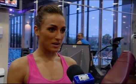 VIDEO O romanca face ravagii in SUA. A castigat titlul de Miss Fitness Universe