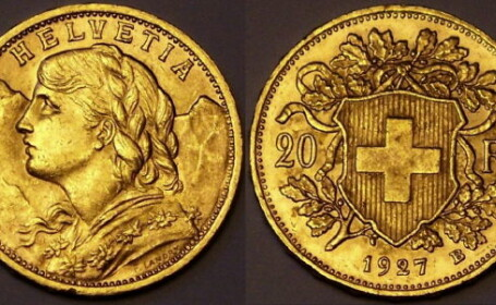 franci elvetieni aur