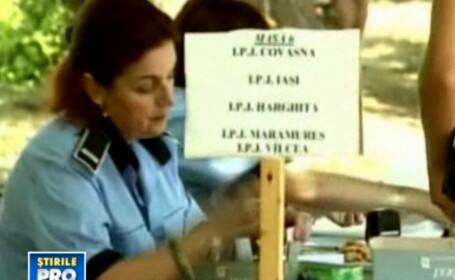 Candidatii la Academia de Politie, supravegheati cu camere video la examenul de admitere