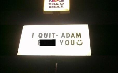 Demisie fast-food