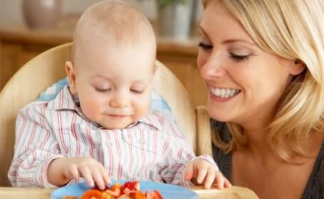 Cu ce iti hranesti copilul cand e mic pentru a-l tine mereu departe de fast-food si semipreparate