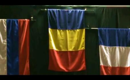 Trei Culori. Au gresit imnul Romaniei la CE de scrima. Fetele noastre au plecat de pe podium