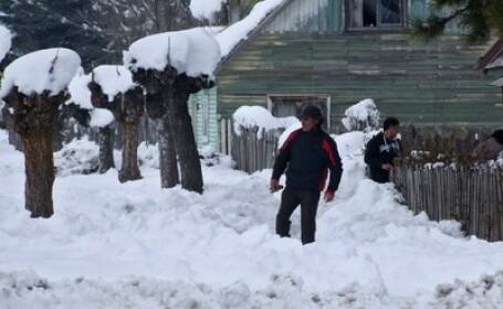 Iarna deosebit de grea in Chile. Peste 16.000 de oameni sunt izolati din cauza zapezilor