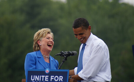 Obama si Hilary