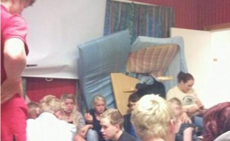 Tinerii din Norvegia, baricadati de frica asasinului. Un supravietuitor: Am stat 2 ore in congelator