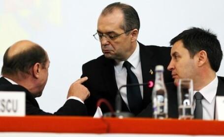 Traian Basescu, Emil Boc si Traian Igas